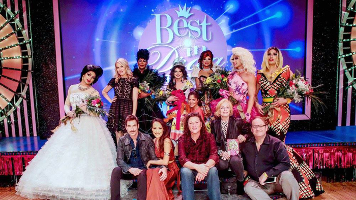BEST IN DRAG CONTESTANTS AND JUDGES